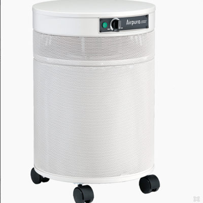 Airpura V600 White Air Purifier For Allergy Control