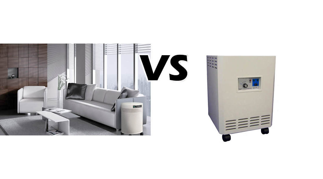 Enviroklenz HEPA Air Purifier VS Airpura UV600 HEPA Air Purifier